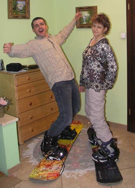 Snowboard, sucha zaprawa