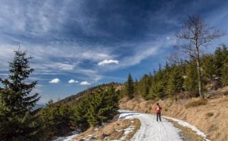 Jeseniki narciarskie wędrówki