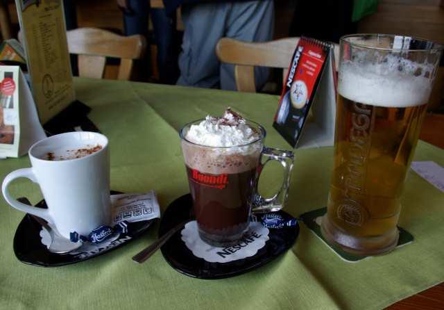 Pradziad - kawa, kakao, piwo