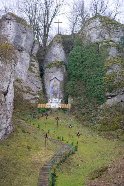 Dolina Mnikowska, obraz Matki Boskiej