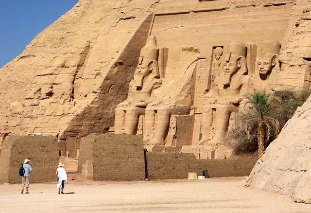 Abu Simbel - świątynia Ramzesa II