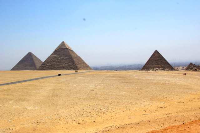 Piramidy egipskie w Giza