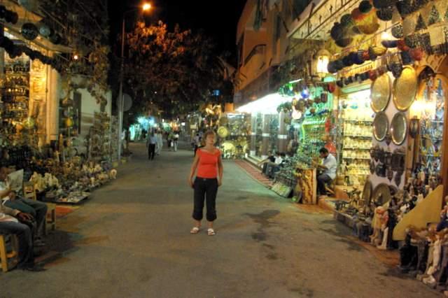Hurghada, stare miasto, bazar