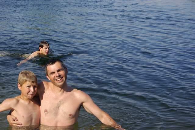 Kąpiel w Nilu