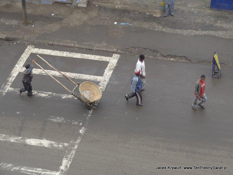 ulice Addis Abbeba Etiopia ethiopia