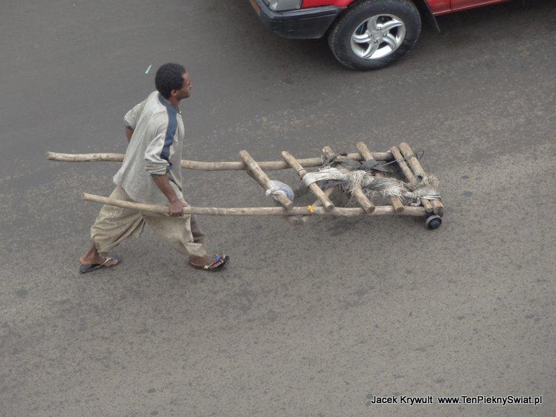 pojazd transportowy Addis Abbeba Etiopia ethiopia