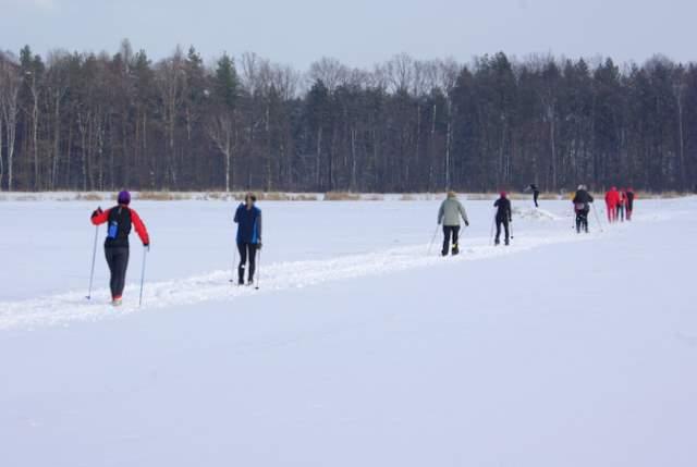 Rachowice - Kozłów, rajd narciarski