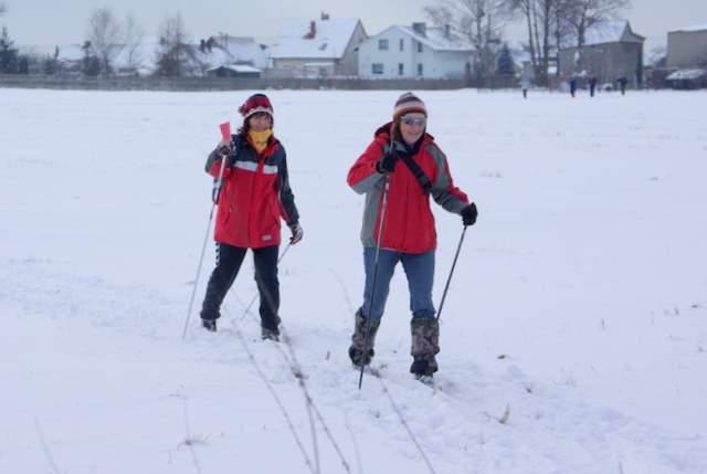 narciarze biegowi