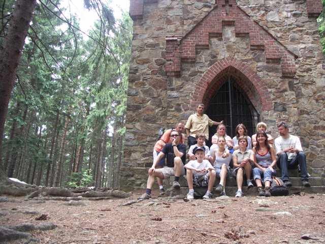 Kaplica Św. Anny  - zdjęcie grupowe