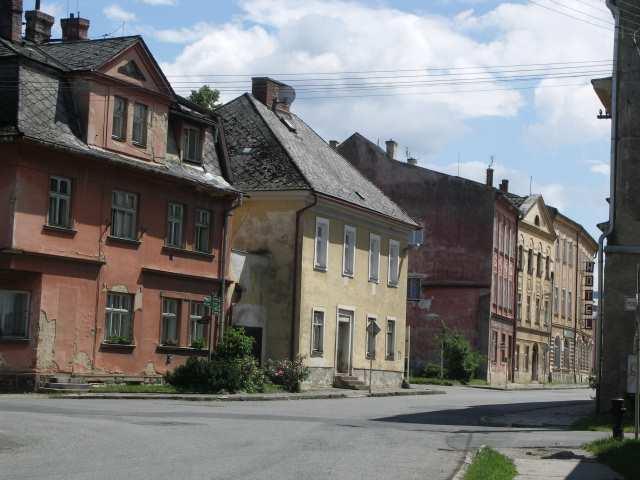 Złote Hory, czeskie, leniwe miasteczko