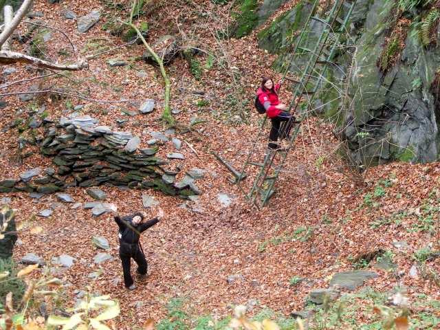 Kamieniołom Gwarkowa Perć - Góry Opawskie