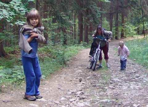 turystyka rowerowa z dzećmi