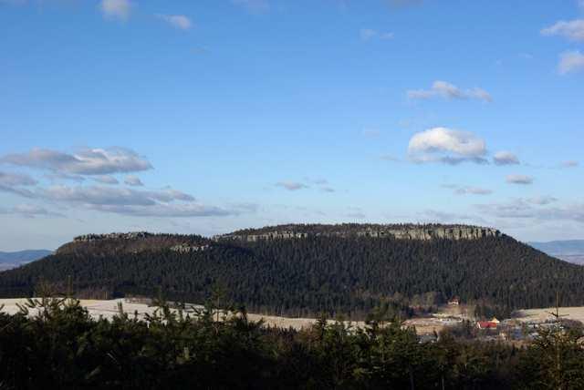 Góry Stołowe, Szczeliniec Wielki i Mały