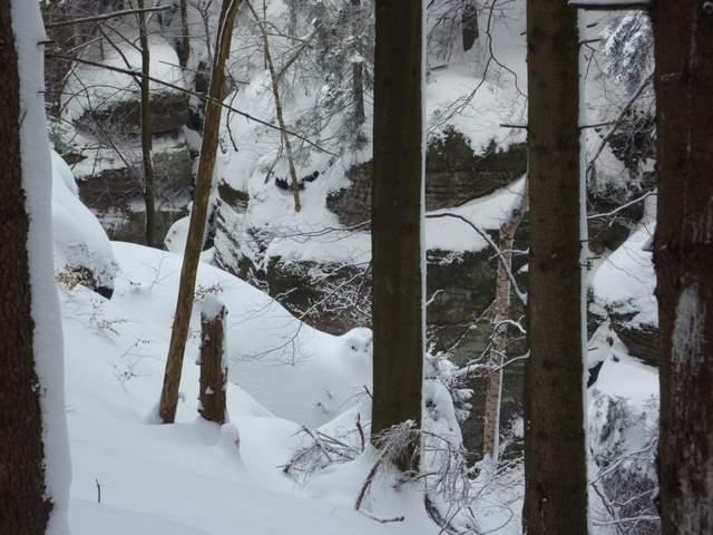 Wodospady Pośny