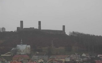 Checiny-zamek-w-deszczu