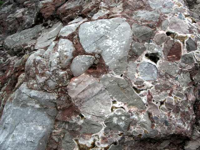 Kamieniołom Zygmuntówka, permskie zlepieńce, marmur