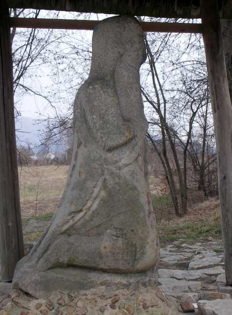 Figura Pielgrzyma - Nowa Śłupia