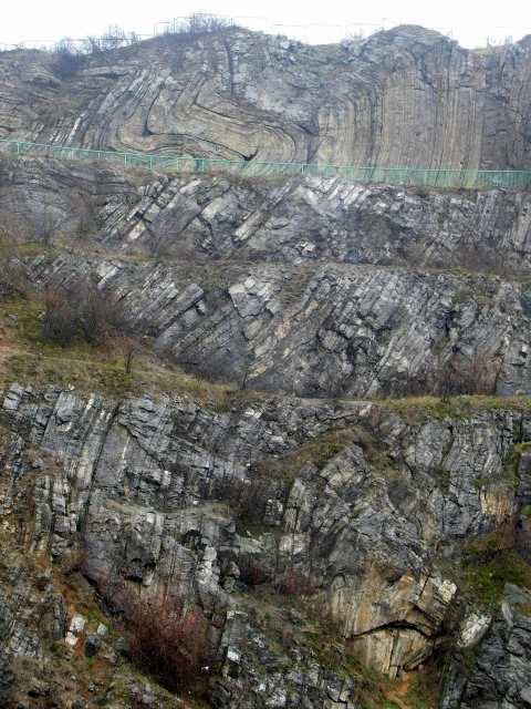Rezerwat Ślichowice - fałd obalony