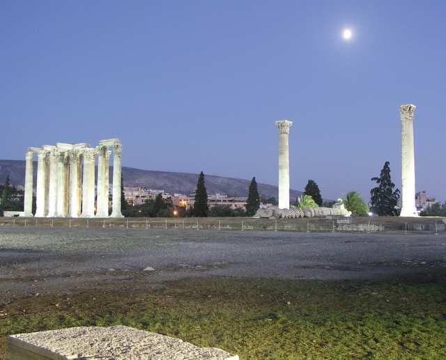 Ateny, Świątynia Zeusa
