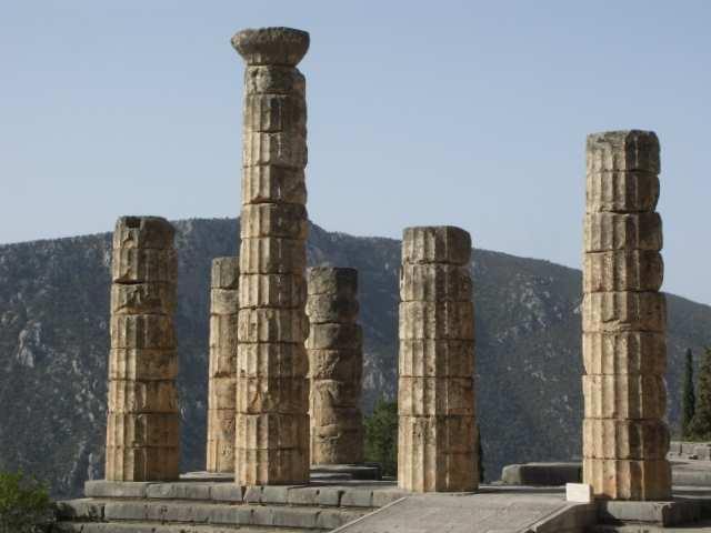 Delfy Świątynia Apollina