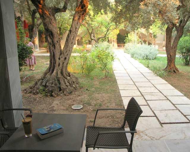 Kawa frappe, muzeum w Atenach