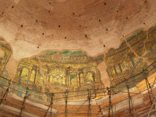 Mozaiki w Rotundzie Galeriusza