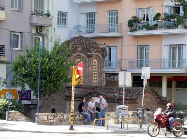 Saloniki,zabytki,miasto