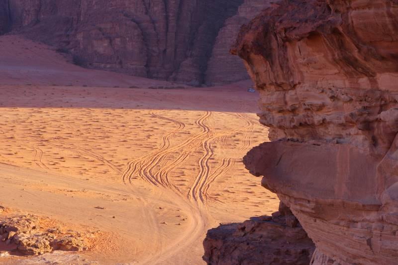 Wadi Rum ,czerwona pustynia