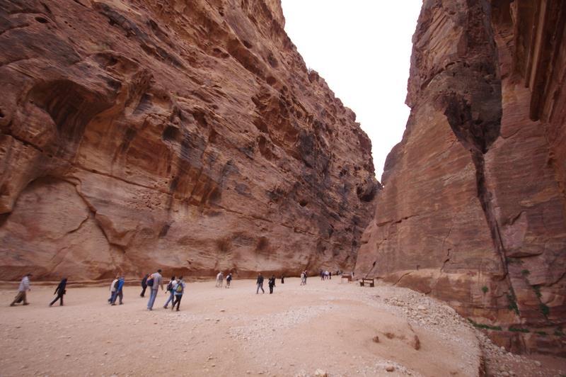 Petra, wnętrze miasta