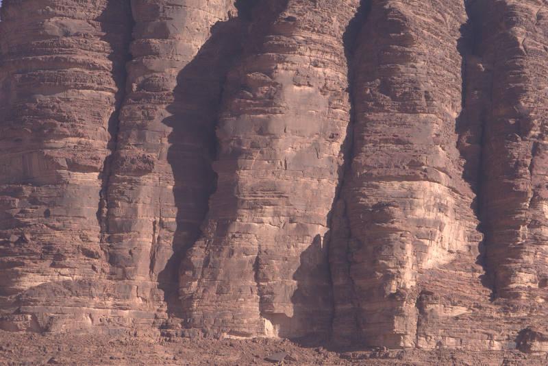 Wadi Rum, siedem Filarów Mądrości