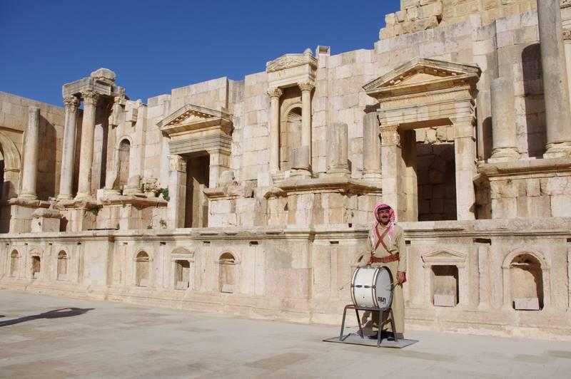 starożytny teatr. Dżarasz, Geraza