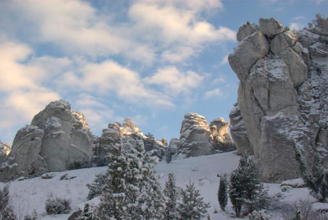Ostańce skalne, Mirów, Jura Krakowsko-Częstochowska