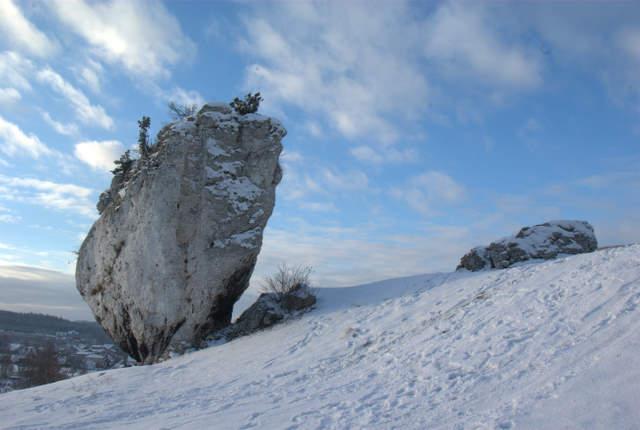 Mirów, ostaniec skalny