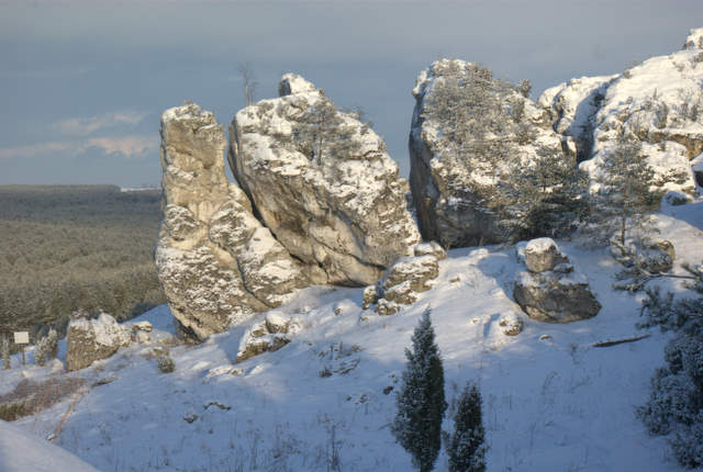 Mirowskie skały