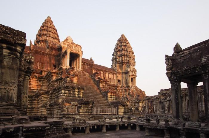 wieże świątyni  Angkor Wat
