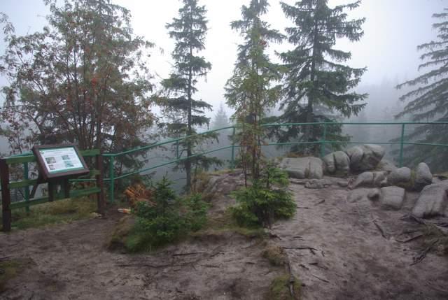 Dolina Pląsawy, punkt widokowy