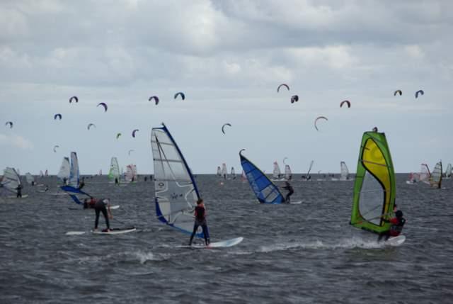 Hel, Kuźnice, windsurfing