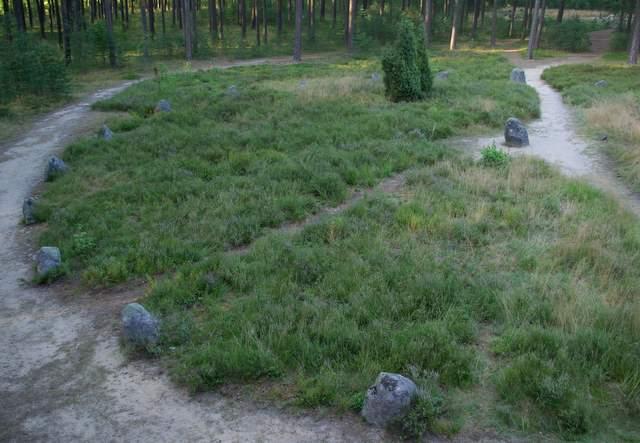 Kręgi kamienne w Odrach
