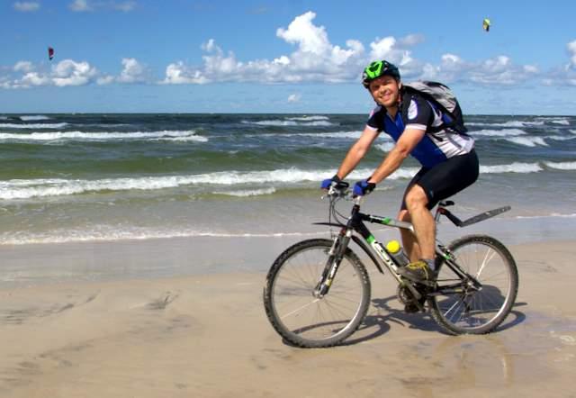 Rowerem nad morze