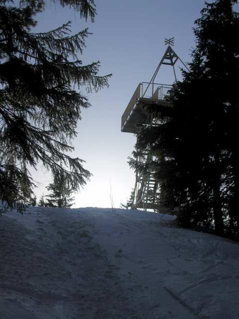 Barania Góra  - wieża widokowa