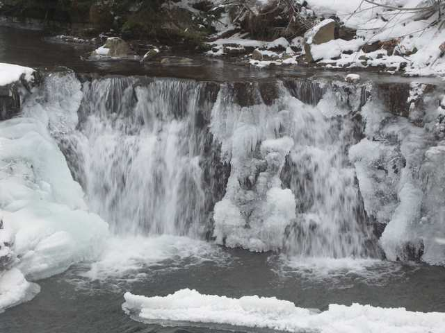 Dolna Białej Wisełki - wodospady