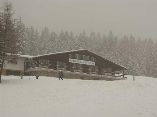 Ośrodek sportów zimowych na Kubalonce