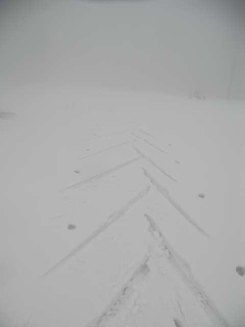 Podejście jodełką na nartach