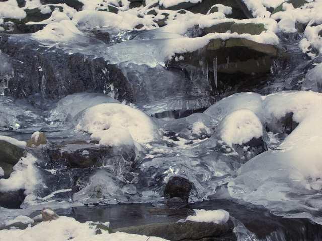 Wodospad - Dolina Białej Wisełki - Kaskady Rodła