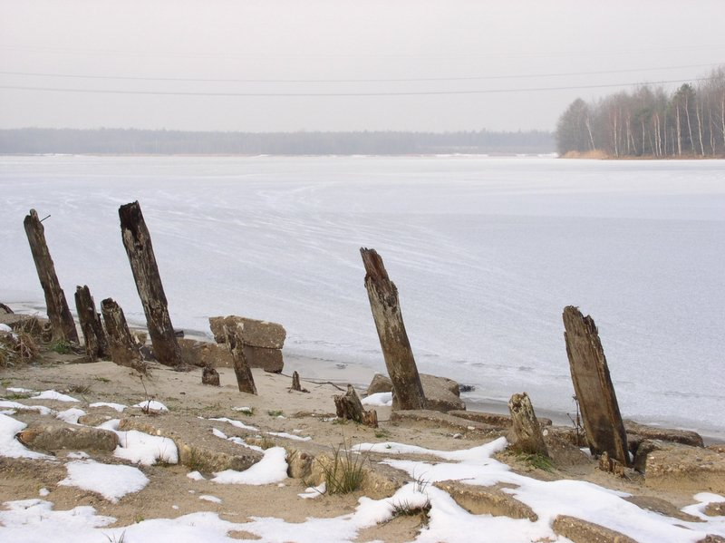 Nakło Chechło zima