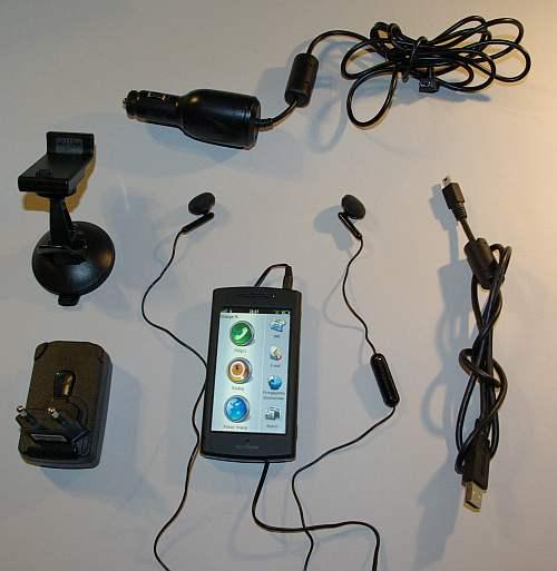 nuvifone-G60 Garmin Asus