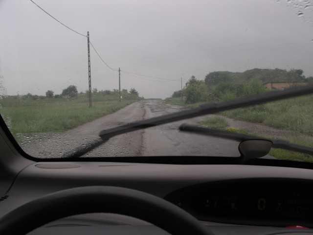 Ponidzie w deszczu też jest piękne