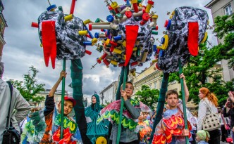 Kraków festiwal Wielka Parada Smoków