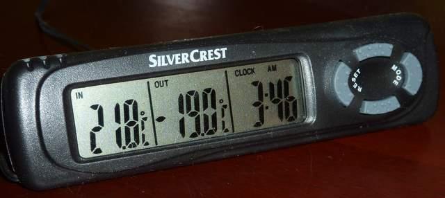 stacja pogody, czyli termometr z Lidla