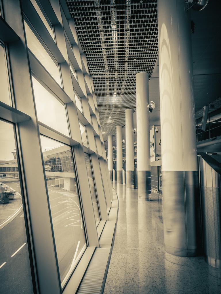 lotnisko w Moskwie